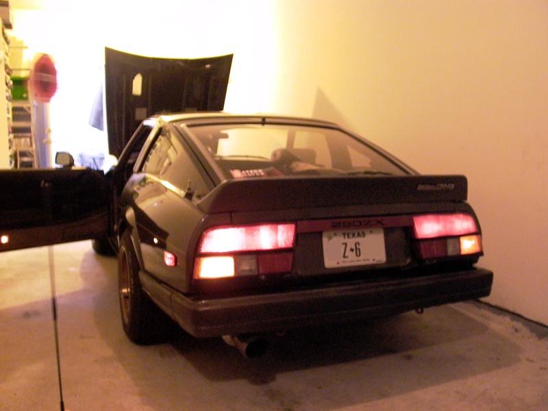 Z31 Tail Lights On A S130
